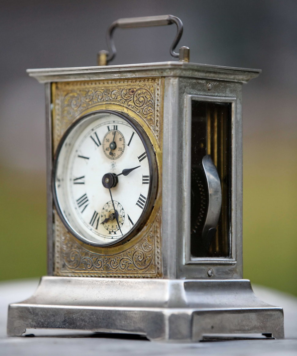 7fca362ed Старинные каретные часы будильник Junghans с музыкой - оригинальный ...